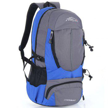 Outdoor Sports Travel Backpack Highcapacity Student Bag - BLUE