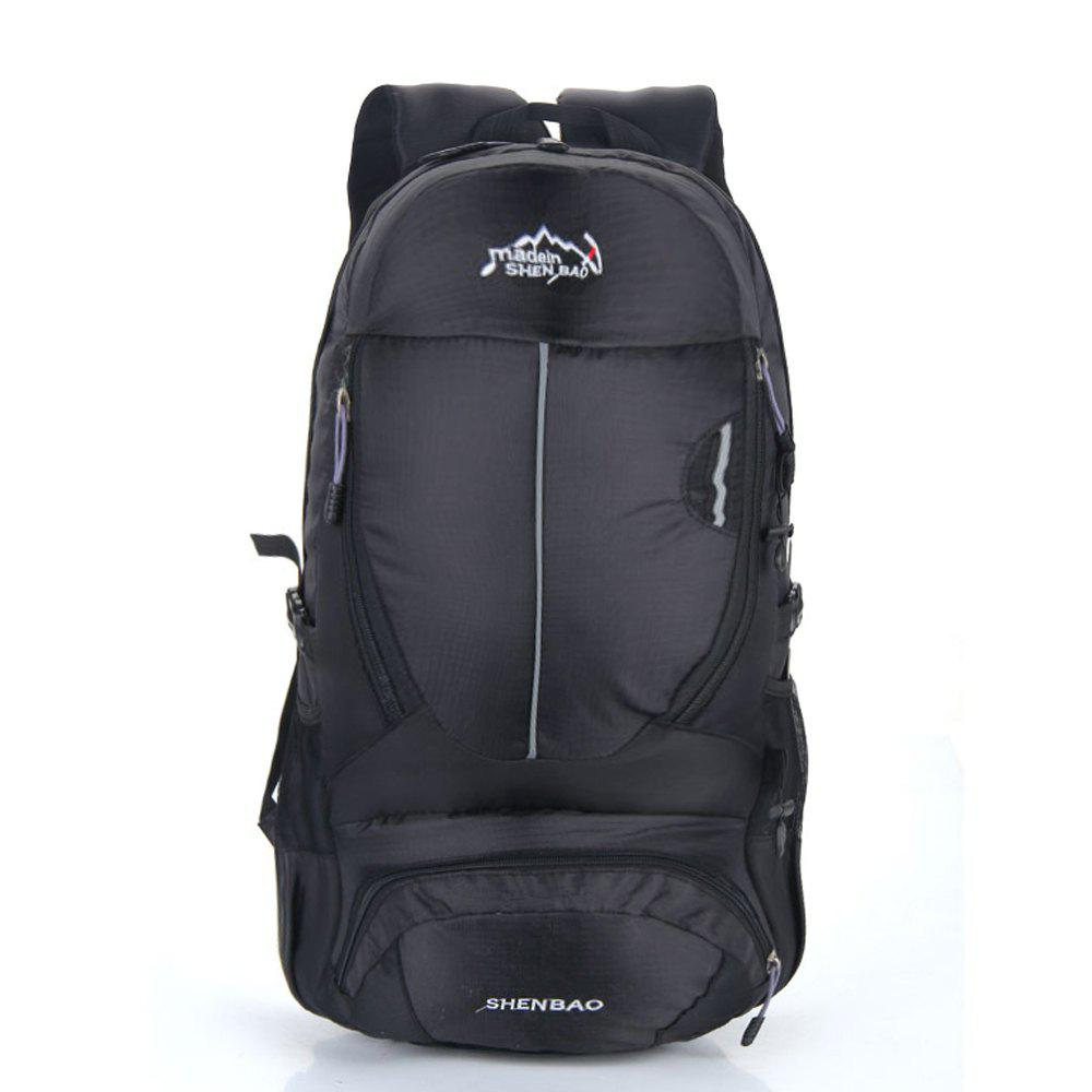 Outdoor Sports Travel Backpack Highcapacity Student Bag - BLACK