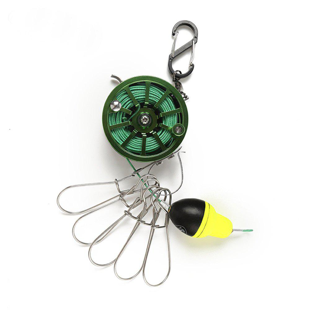 Ilure Fresh Water 60 Raft Fly Portable Fish Lock - GREEN
