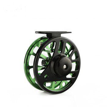 Ilure CNC5/6WF Fly Fishing Reel - GREEN GREEN