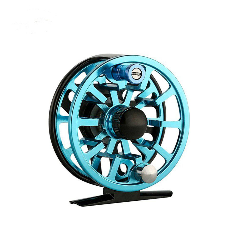 Ilure CNC5/6WF Fly Fishing Reel - BLUE