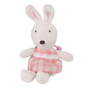 45CM Anti-lost Plush Rabbit Doll - WHITE WHITE
