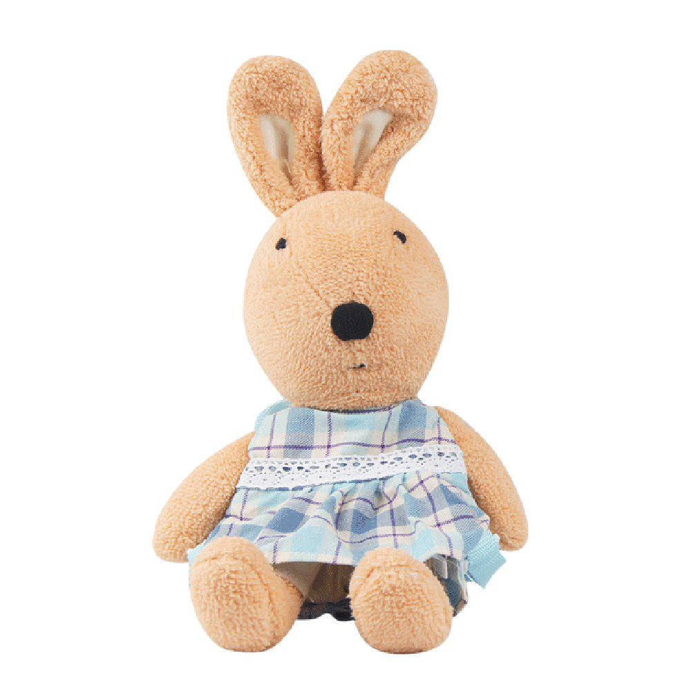 45CM Anti-lost Plush Rabbit Doll - LIGHT BROWN