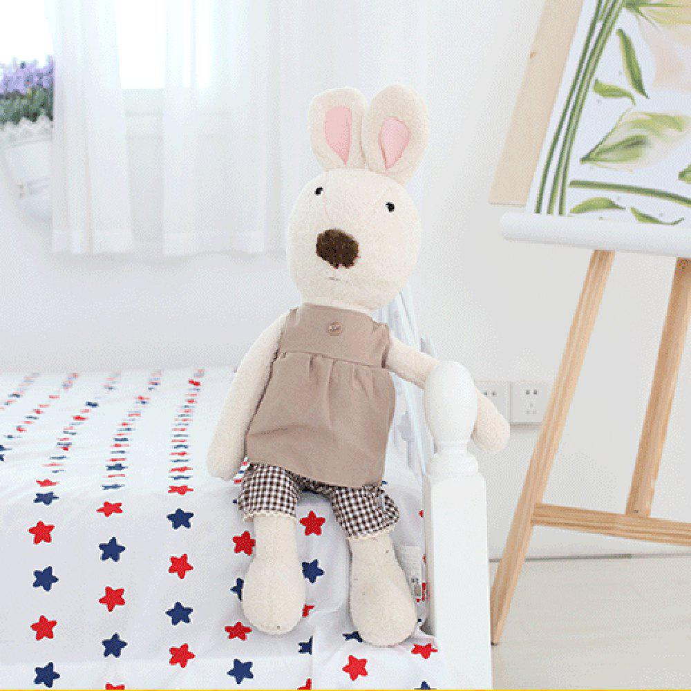 30CM Cute Dress Plush Doll Toy - WHITE