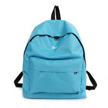 Women s Backpack Solid Color Large Capacity