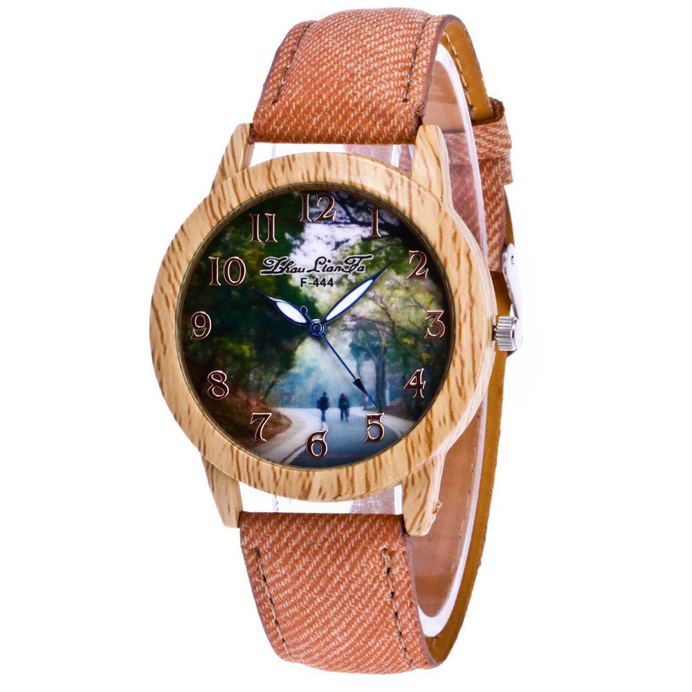ZhouLianFa New Fashion Cowboy Ladies Canvas Strap Business Casual Ladies Sport Quartz Watch дорого