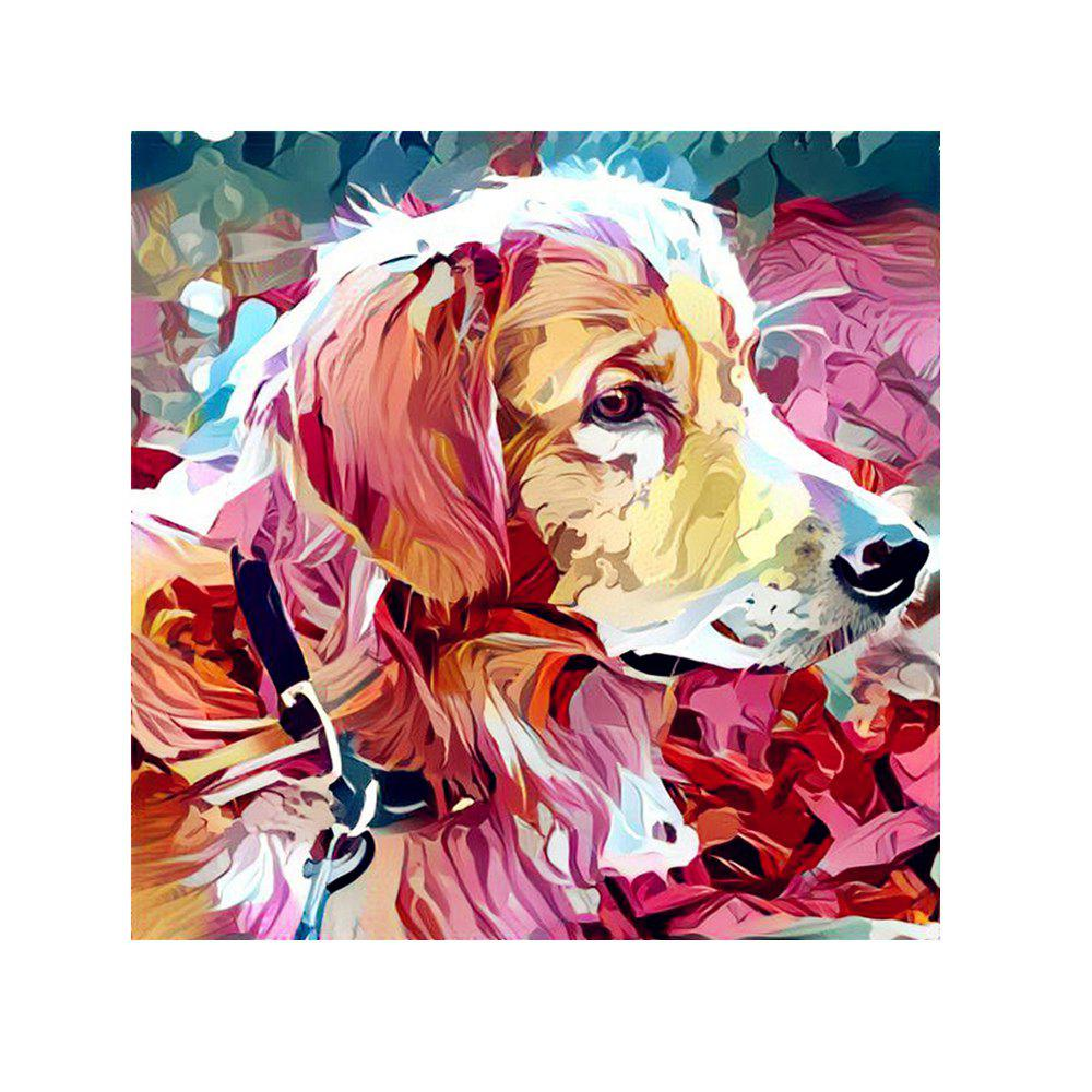 Naiyue 7115 Color Dog Print Draw Diamond Drawing - COLORMIX
