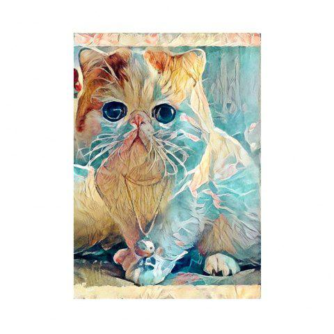 Naiyue 7116 Cute Cat Print Draw Diamond Drawing - COLORMIX