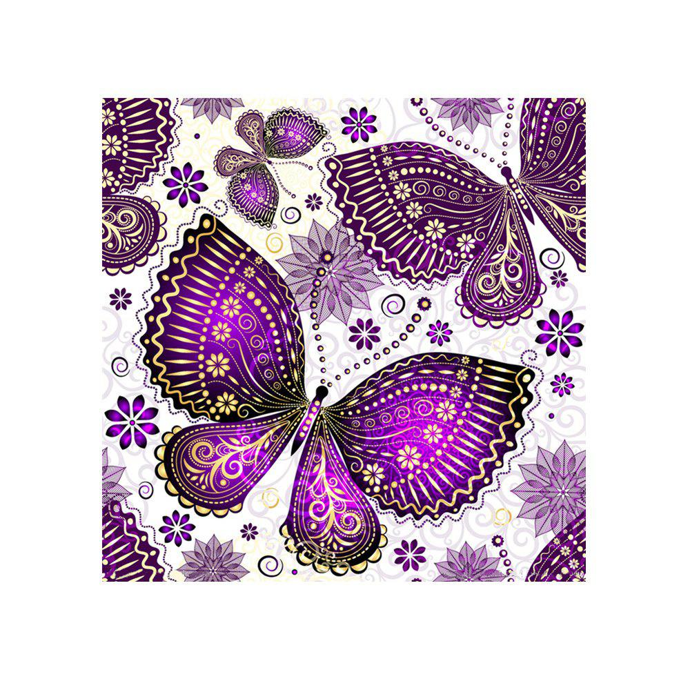 Naiyue 7120 Butterfly Print Draw Diamond Drawing - DAHLIA