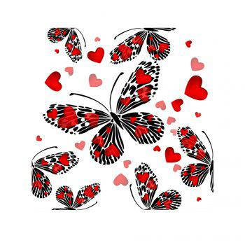 Naiyue 7121 Butterfly Four Print Draw Diamond Drawing - RED + BLACK RED / BLACK