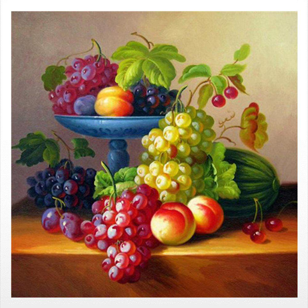 Naiyue 9620 Fruit Print Draw Diamond Drawing - COLORMIX
