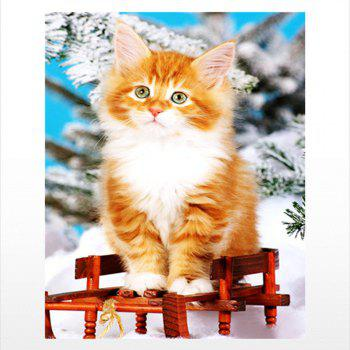 Naiyue 9735 Cats Print Draw Diamond Drawing - COLORMIX COLORMIX