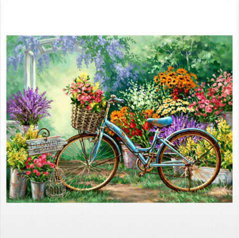 Naiyue 9791 Rural Bikes Print Draw Diamond Drawing - COLORMIX