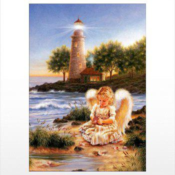 Naiyue J721 Lighthouse Angel Print Draw Diamond Drawing - COLORMIX COLORMIX