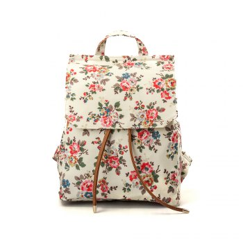 Waterproof Backpack for Women Floral Girls School Backpack - FLORAL FLORAL