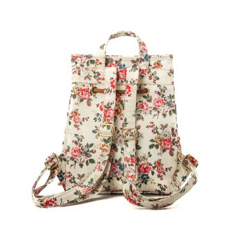 Waterproof Backpack for Women Floral Girls School Backpack -  FLORAL