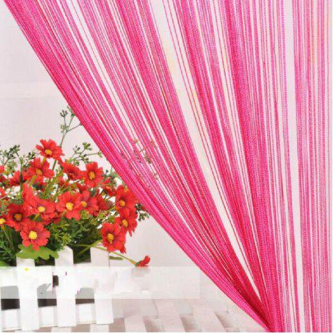 Straight Line Curtain Room European Curtain - PINK FLAT FRONT