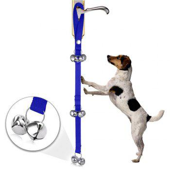 Dog Doorbells Premium Quality Training Potty Dog Bells - BLUE BLUE