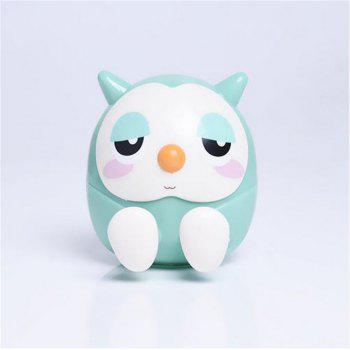 Universal ABS Mobile Phone Holder Cute Owl Cartoon  Stand Tablet Smartphone Support Mini Saving Money Box - MINT MINT