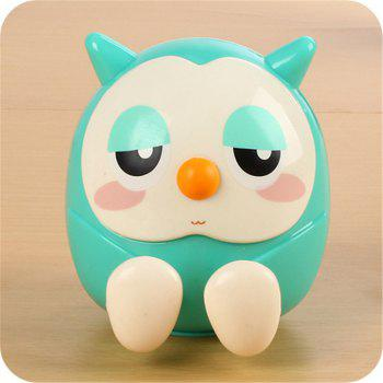 Universal ABS Mobile Phone Holder Cute Owl Cartoon  Stand Tablet Smartphone Support Mini Saving Money Box -  MINT