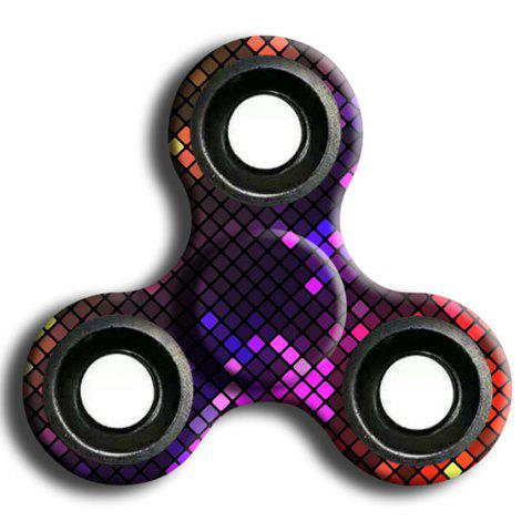 Stress Relief Toy Camouflage Finger Spinner - RED