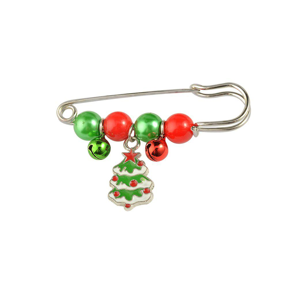 X'mas Brooch Pins Santa Charm Pendants Christmas Gift Stick Drop Men Women Jewelry - THE CHRISTMAS TREE