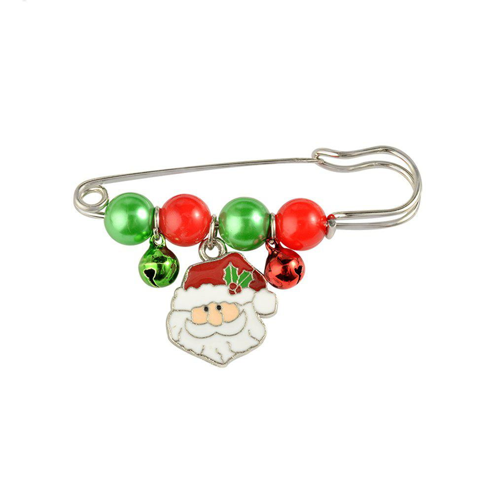 X'mas Brooch Pins Santa Charm Pendants Christmas Gift Stick Drop Men Women Jewelry - OLD MAN