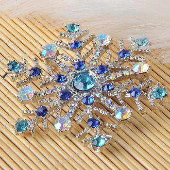 Snowflake Charms Pendants Pins Christmas Brooch Women Brooches Pins Decoration Xmas Merry Xmas Gifts - COLORFUL