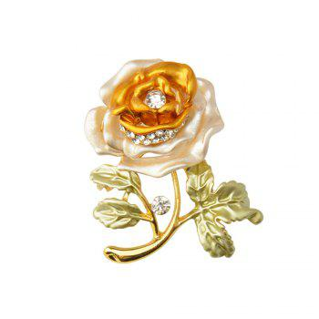 Rose Flower Brooch Garment Accessories Wedding Bridal