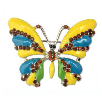 Vintage Jewelry Large Enamel Butterfly Brooches Brooch Wedding Brooch Insect Hijab Pin Brooches For Women And Girl - DAISY DAISY