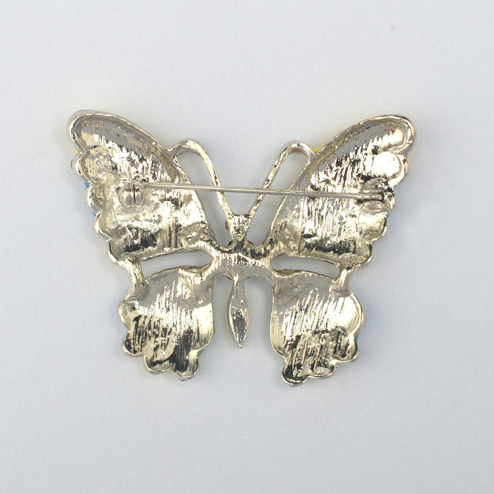 Vintage Jewelry Large Enamel Butterfly Brooches Brooch Wedding Brooch Insect Hijab Pin Brooches For Women And Girl - DAISY