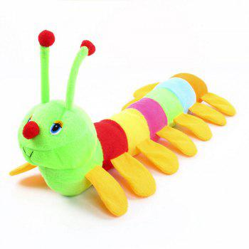 Atongm colourful caterpillar plush toys - COLORMIX COLORMIX