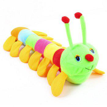 Atongm colourful caterpillar plush toys -  COLORMIX