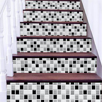 ZB16 Creative Corridor 3d Mosaic Decorative Wall Sticker Staircase Sticker - MIXCOLOR MIXCOLOR