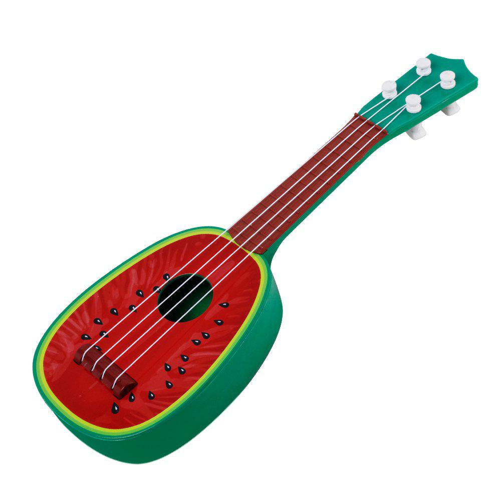Especially in the Kerry Mini Fruit Guitar Beginners Guitar sound Instrument Toys - RED