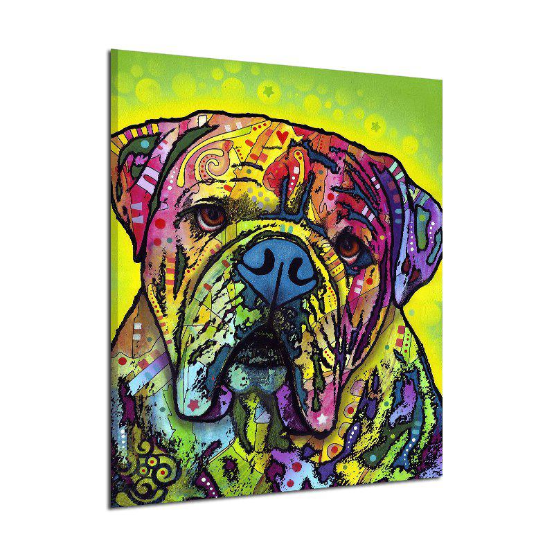 Abstract Canvas Print of Dog Frameless Home Wall Decoration frameless canvas print of words home wall decoration
