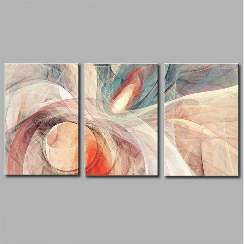 Hua Tuo Abstract Style Stretched Frame Ready To Hang  Size 50 x 70CM A1712 - COLORFUL 20 X 28 INCH (50CM X 70CM)