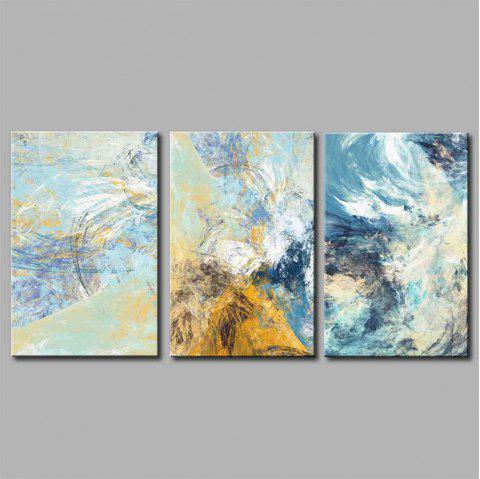 Hua Tuo Abstract Style Stretched Frame Ready To Hang Size 50x70CM A1731 - COLORMIX 20 X 28 INCH (50CM X 70CM)