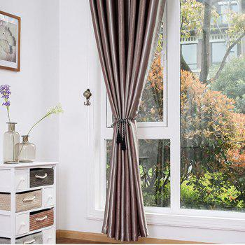 Shading Stripe Curtain  Bedroom Living Room Curtain - MOCHA 1.4MX1.5M