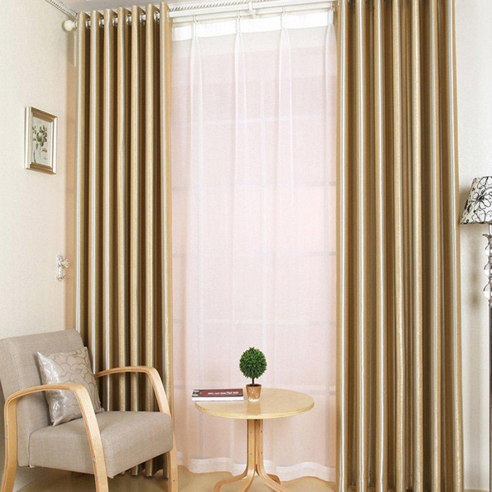 Shading Stripe Curtain  Bedroom Living Room Curtain - PALOMINO 1.4MX1.5M