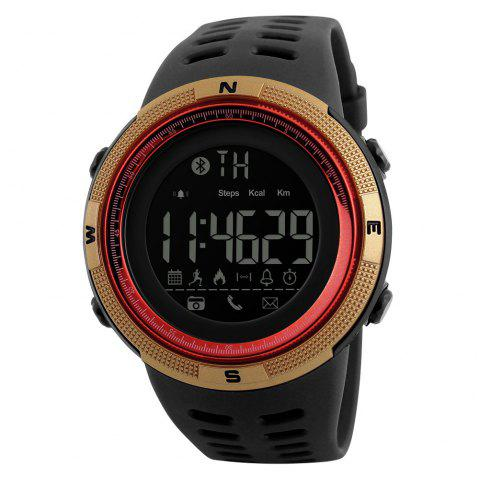 Beauty Fashion Men At All Times The Trend of Electronic Outdoor Sports Student Watches - RED