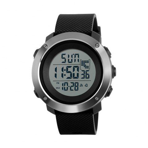 Personalized Cool Men Electronic Outdoor Sports Couple Stylish Multi-Functional Waterproof Student Electronic - BLACK