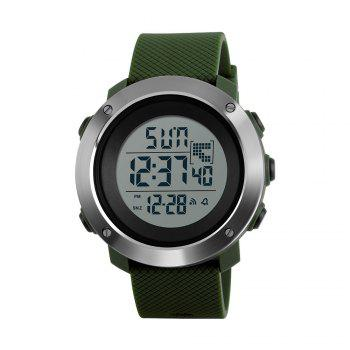 Personalized Cool Men Electronic Outdoor Sports Couple Stylish Multi-Functional Waterproof Student Electronic - ARMYGREEN ARMYGREEN