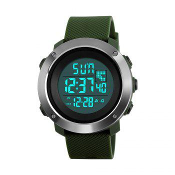Personalized Cool Men Electronic Outdoor Sports Couple Stylish Multi-Functional Waterproof Student Electronic - ARMYGREEN