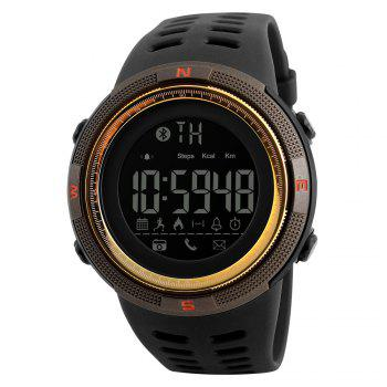 Fashion Electronic Outdoor Sports Student Burst Section Waterproof Sports Watch - GOLDEN GOLDEN