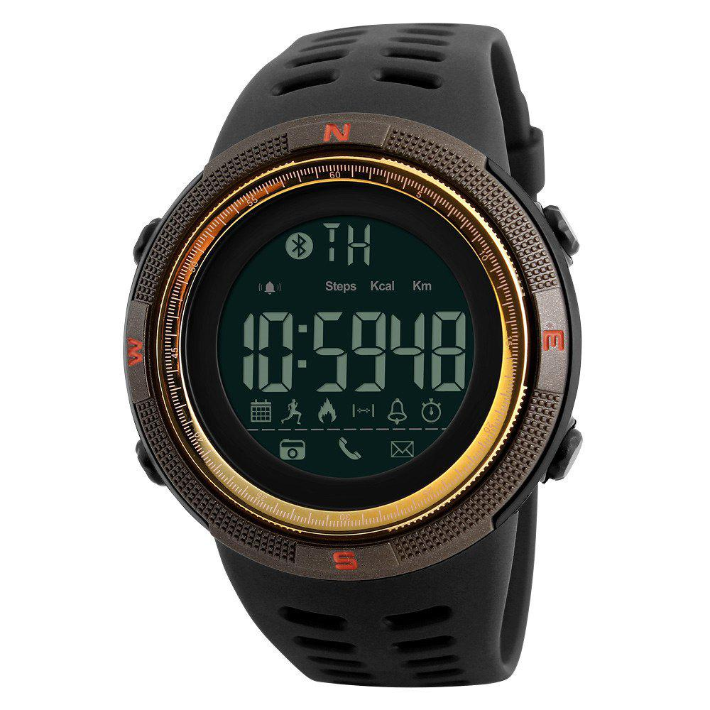Fashion Electronic Outdoor Sports Student Burst Section Waterproof Sports Watch - GOLDEN