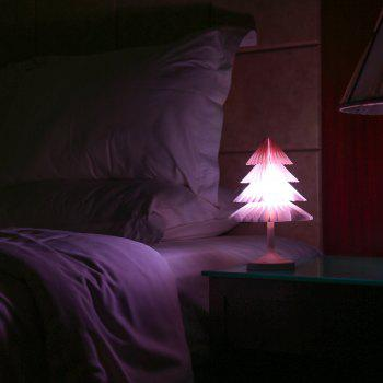 JUEJA Christmas Tree Desk Lamp USB Colorful LED Touch Control Night Light Xmas New Year Gift - RGB COLOR RGB COLOR