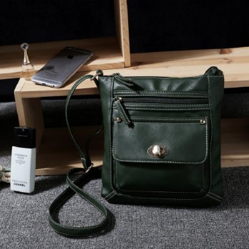 Shoulder Bags for Women 2017 Luxury Vintage Crossbody Bags Female Black Brown Fashion Flap Bags Ladies Small Bag - ARMYGREEN