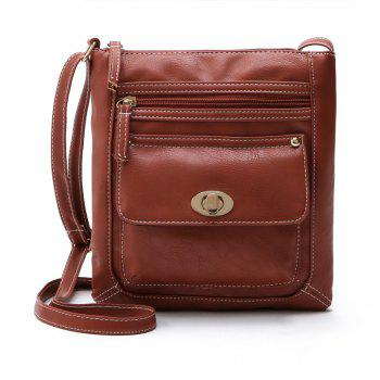Shoulder Bags for Women 2017 Luxury Vintage Crossbody Bags Female Black Brown Fashion Flap Bags Ladies Small Bag - BROWN D STYLE BROWN D STYLE