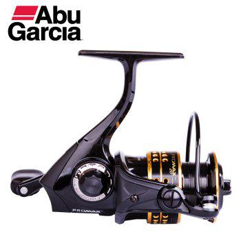 Abu Garcia PRO MAX 5 High Value 6+1 Ball Bearing 6.5lb Carbon Fiber Max Drag Spinning Fishing Reel -  BLACK